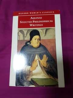 🚚 Aquinas selected philosophical writings