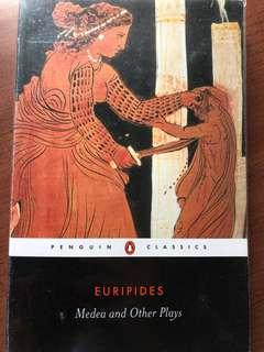 Last clearing sale!! literature book: Medea and Other plays (Penguin Classics)!