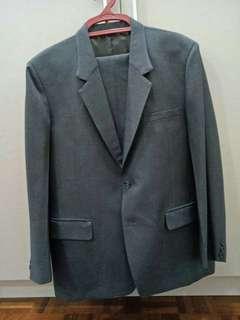 Men's Tailor-Made Blazer and Slacks Set