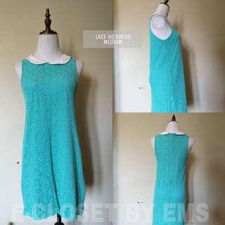 Lace Teal HQ Dress