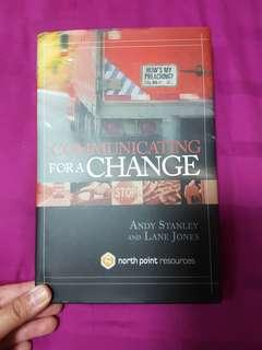 🚚 Communicating for a Change by Andy Stanley and Lane Jones
