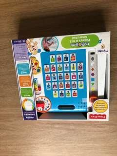 🚚 FISHER PRICE LAUGH LEARN Puppy's A to Z SMARTPAD