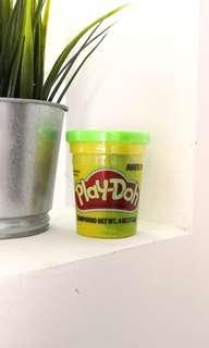 Green playdoh tub