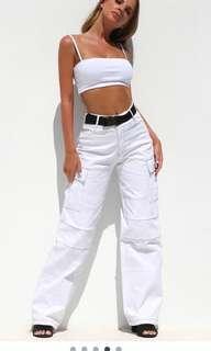 I am gia ace pants size L