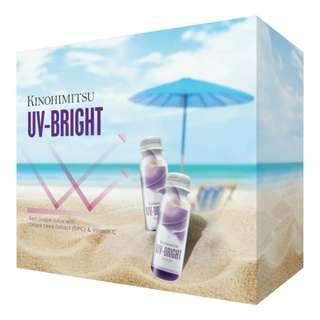 3packdeal!! Kinohimitsu UV- Bright Drink 6x50ml