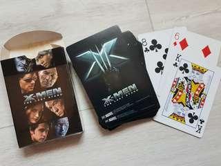🚚 X-Men playing cards