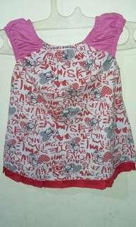 Dress Pink 1-2th. LD. 64