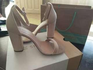 repriced! Call it spring heels (nude)