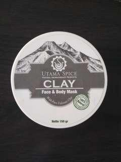 Utama Spice Bali Clay Face and Body Mask