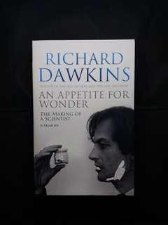 An Appetite For Wonder By Richard Dawkins