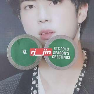 BTS Season's Greetings 2019: Masking Tape