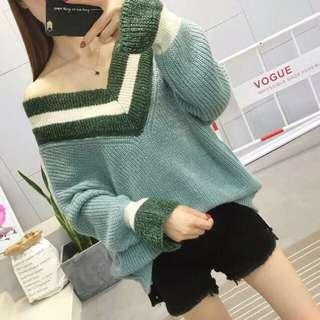 Sweater rajut knit tebal