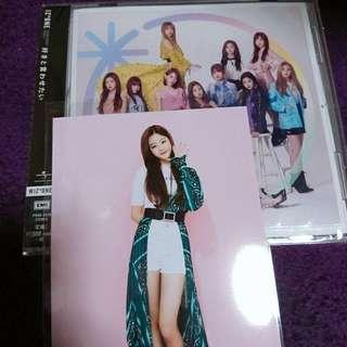 IZONE SINGLE WIZONE VERSION WITH WON YOUNG  POSTCARD