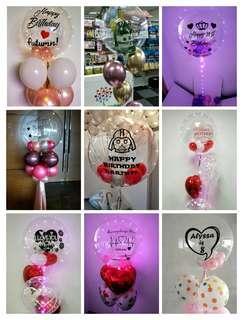 Valentine's custom balloon