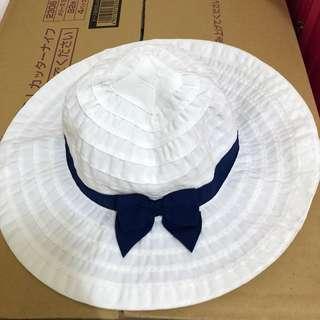 🚚 全新 美國GYMBOREE遮陽帽 0-6m