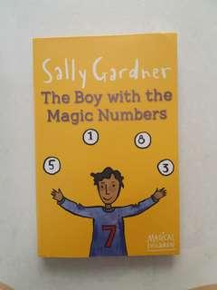 Boy with lucky numbers Sally Gardner book