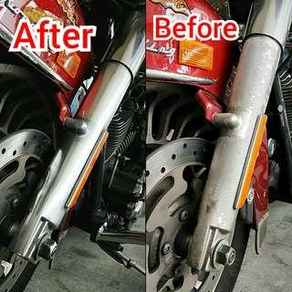 Professional Polishing/Restoration for cars and bikes!