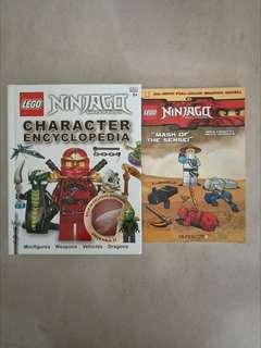 LEGO Ninjago encyclopedia + graphic novel
