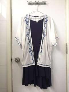 Kimono Top & Dress (H&M)
