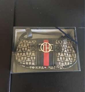 Tommy Hilfiger TH Initials Baguette Shoulder Bag