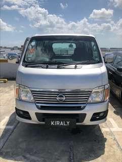Auto Van For Rent