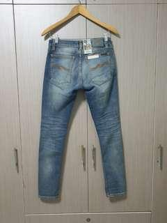 🚚 Reserved! Authentic Nudie Jeans Skinny Lin Shimmering Power
