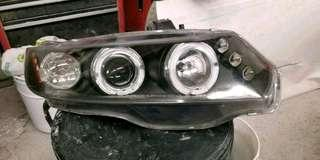 Projector headlights for honda civic 2door 06-11