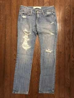 Abercrobie & Fitch Blue Jeans