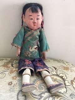中國古董娃娃1960-70s
