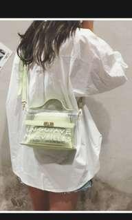 Green Glosy Bag