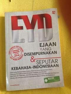 EYD ( Ejaan Yang Disempurnakan) edisi terbaru
