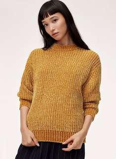 Aritzia Salette Sweater XS NWOT