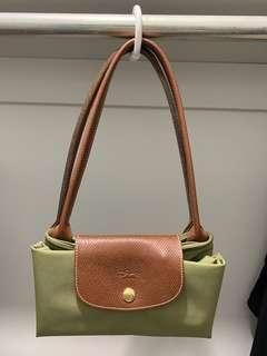 Longchamp small olive green
