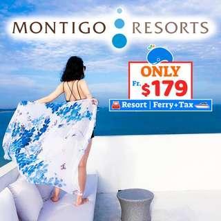 2D1N Montigo Resorts + 2-Way Ferry + Land Transfer + Breakfast