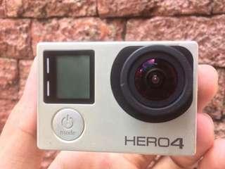 Gopro Hero 4 Silver (harga bisa nego)