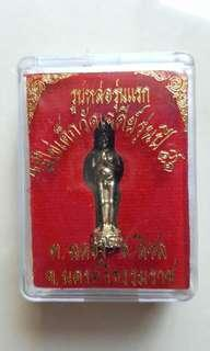 Kun Mun Ai Kai Wat Chedi. Bronze. 2546. Original temple box and condition. Interested PM