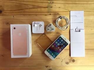 BUC iPhone 7 256GB Rose Gold Fullset