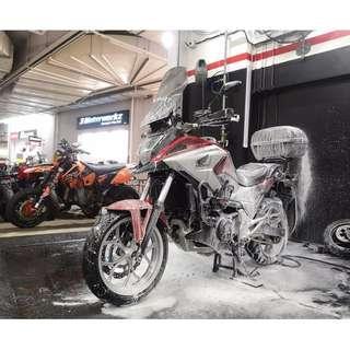 Fireball Hydrophobic Bike Spa @ r.Detailing