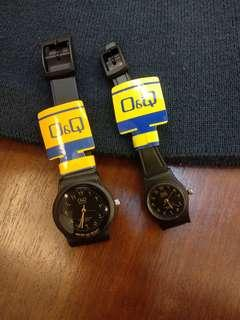 Q&Q arabic watch couple, Jam arab Q&Q couple