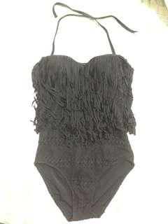 New one piece swimsuit - mesh with frills