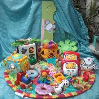 Baby and Toddler Toys and Books