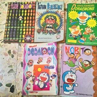 Doraemon Assorted Comics(Malay)