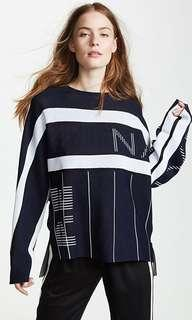 PE nation reverse knit jumper