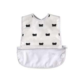 🚚 💫現貨💫 10mois BEARMASK 收納式餐圍兜(無袖) 防潑水 日本製