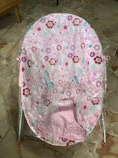 🚚 Pink baby rocker