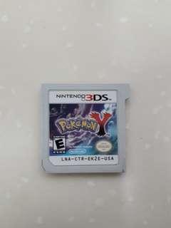 Nintendo 3ds games (pokemon Y)