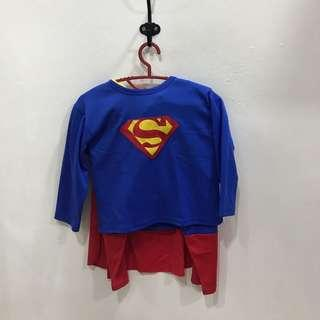 Superman kids custome