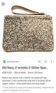 Old Navy glitter sparkly wrislet