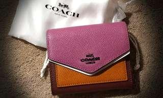 🚚 AUTHENTIC Brand New COACH wallet (short)
