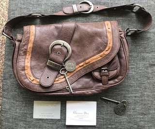 Vintage Christian Dior Gaucho Bag